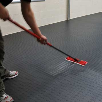 Interlocking Floor Tiles are Easy To Maintain