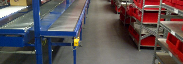 Ecotile is perfect for warehouse floors