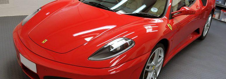 how-to-floor-car-garage-ferrari
