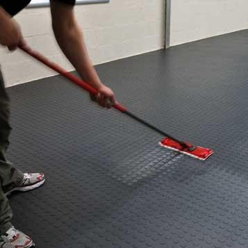 Interlocking Floor Tiles are Easy To Maintain