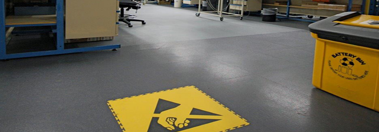 Esd Flooring Installation : Interlocking esd flooring for commerce and industry