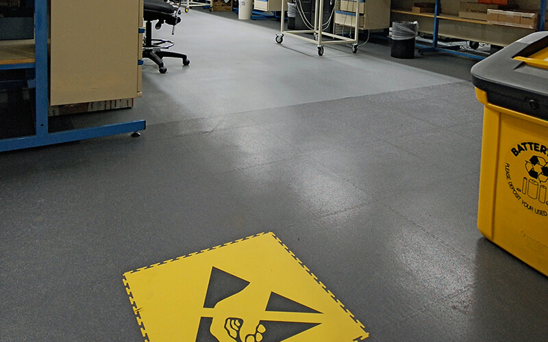 ESD Flooring Marking