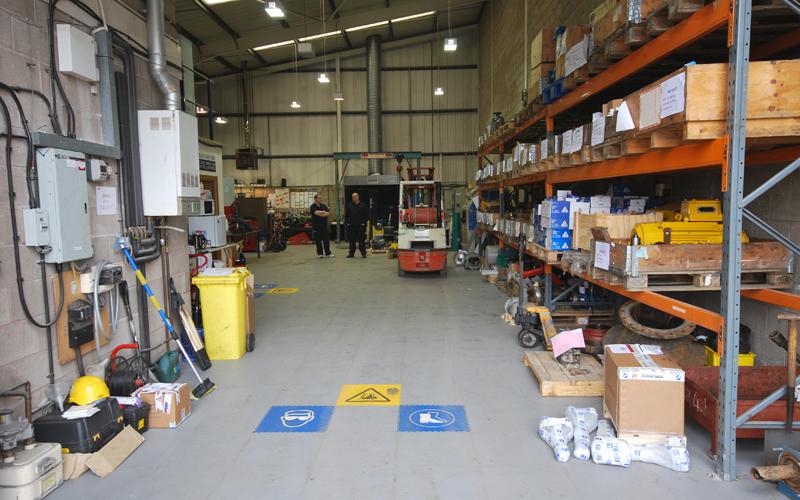 Industrial flooring slideshow 1