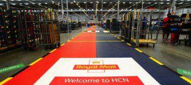 Industrial warehouse floor