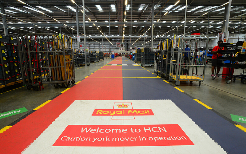 Royal Mail Warehouse Flooring