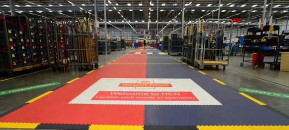 Royal Mail Flooring