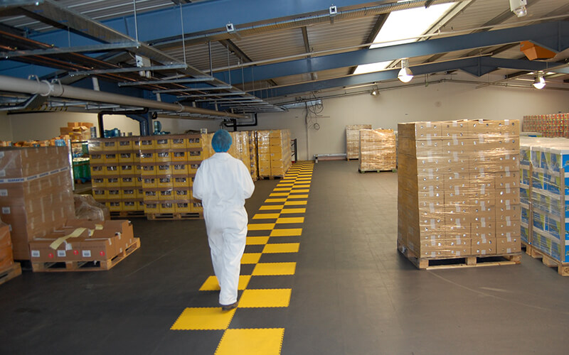 Warehouse Flooring Walkway