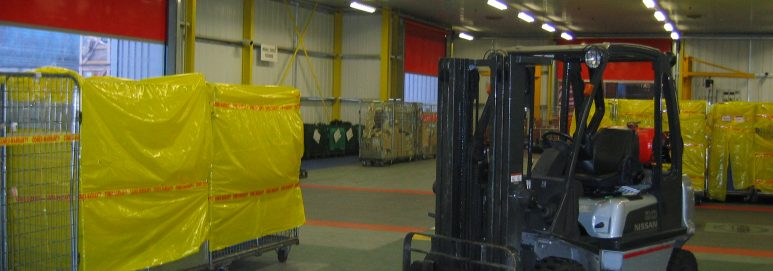 Ecotile warehouse flooring used by Nissan