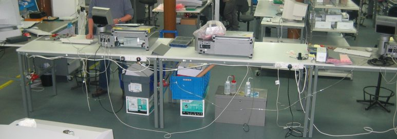 an example of ecotile esd antistatic flooring