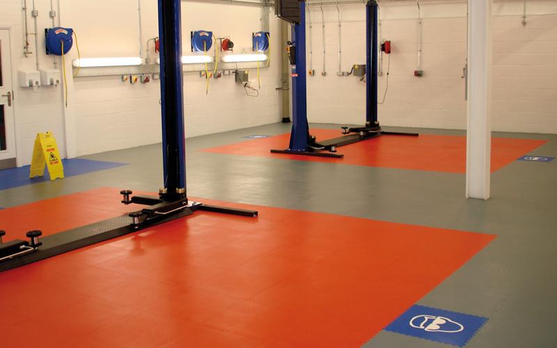 workshop flooring slideshow 2