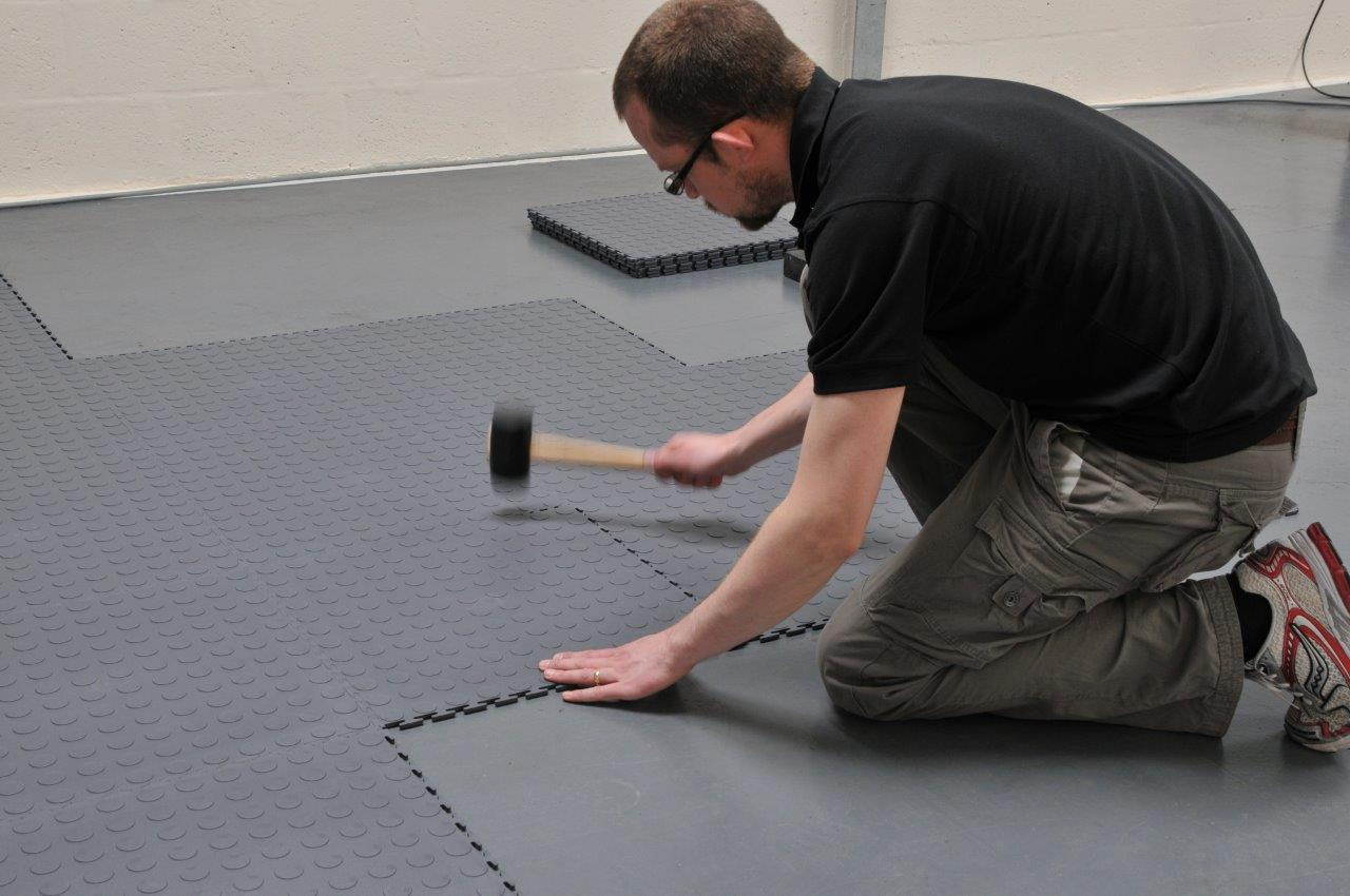 How To Install Ecotile In A Workshop Studio 35m2 Ecotile