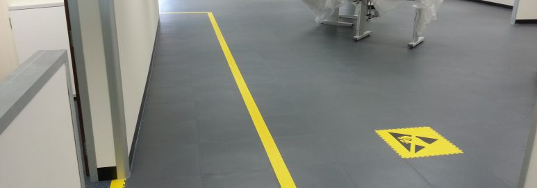 Industrial Flooring anti static