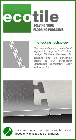 Smart interlocking flooring