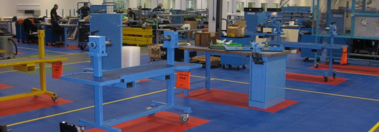 Cobham Uses Industrial Floor