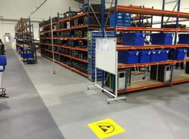 Ecotile floor tiles provide ESD protection at Paxton in Eastbourne