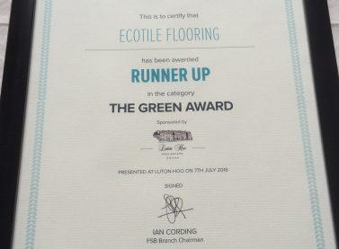 FSB Runner Up Certificate