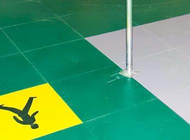 PVC Warehouse Flooring in TK Max Warehouse