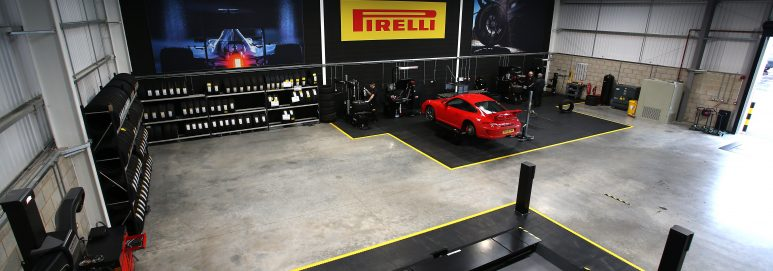 Pirelli tyre training centre