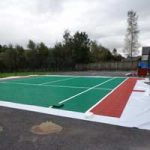 Ecotile's Sports Flooring Tennis court