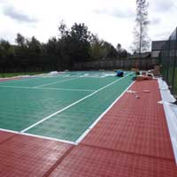 The Final Tennis Court