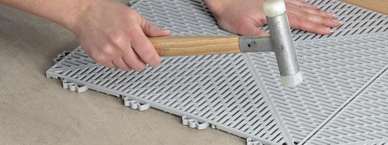 Outdoor Flooring Installation