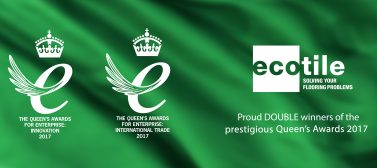 Ecotile Flooring are one of five firms to win TWO Queen's Awards For Enterprise 2017