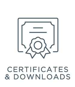 Certificates & Downloads