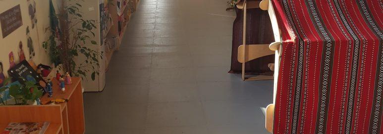 british school muscat school flooring
