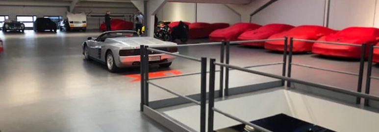 DK Engineering Workshop Flooring