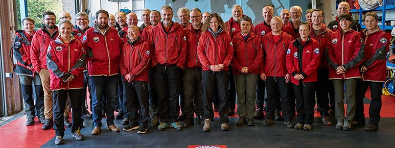 Buxtom Mountain Rescue Team Members