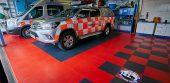 Buxton Mountain Rescue Vehicle