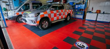 Buxton Mountain Rescue Vehicle